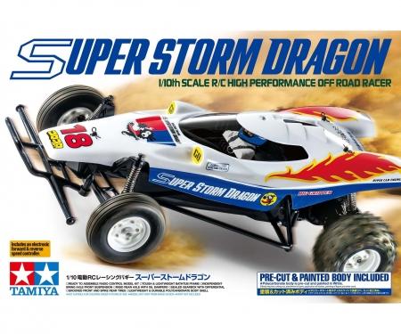 tamiya 1:10 RC Super Storm Dragon