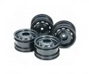 tamiya Lunch Box Mini Wheel Black (4)