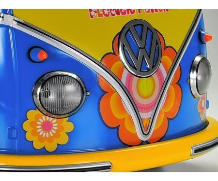 tamiya 1:10 RC VW Bus Type 2 T1  Flower Power