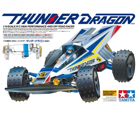 tamiya 1:10 RC Thunder Dragon (2021) 4WD PB