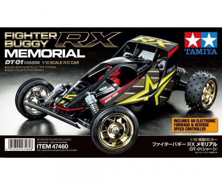 tamiya 1:10 RC Fighter Buggy RX Memorial DT-01