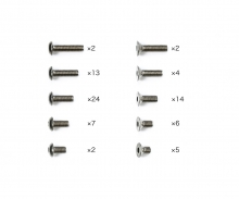 tamiya TD4 Titanium Screw Set (65)