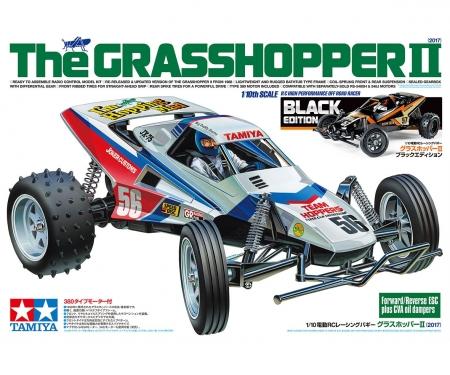 tamiya 1:10 RC The Grasshopper II Black Edition