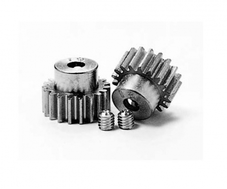 Pinion Gear-Set 18/19T Alu M0.6