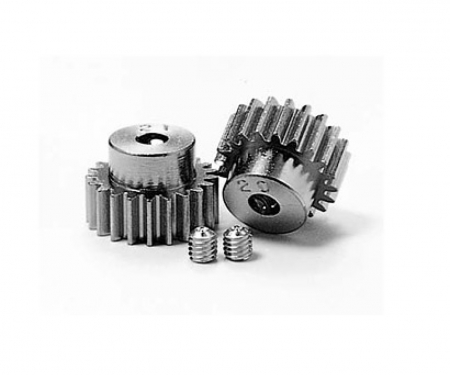 tamiya Pinion Gear-Set 20/21T Alu M0.6