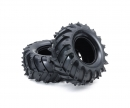 tamiya Monster Truck Tires (2) Wild Dagger