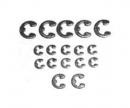 tamiya E-Ring Satz (17) 2mm/3mm/4mm