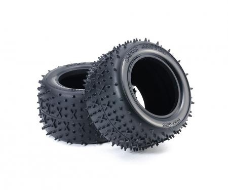 tamiya Cross-Spike Tires rea. (2) Stad.Blitzer
