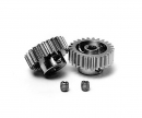 tamiya Pinion Gear-Set 24/25T Alu M0.6