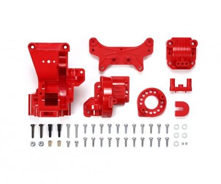 tamiya TA-01/02 B-Teile Getriebegehäuse hinten rot
