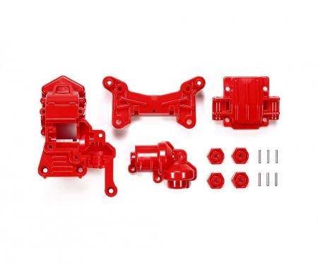 tamiya TA-01/02 4WD Front Gear Case red