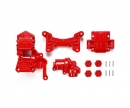 tamiya TA01/02 4WD Front Gear Case red