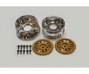 tamiya Porsche 934 Wheels chr./gold 26mm(2)