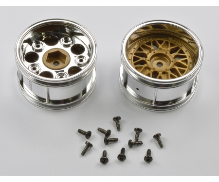 tamiya Wheels Porsche 934 30mm chr./gold(2)