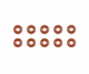 tamiya Damper O-Ring 3x6mm Rot (10)