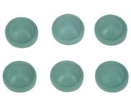 Dämpfer-Dichtkappen (6) grün 50519