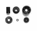 tamiya G-Parts Gear-Set M0.6 (1) TA-03