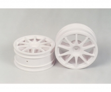 tamiya 10-Spoke Wheels Jaccs Accord white (2) 2