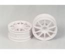 tamiya 10-Spoke Wheels white (2) 26mm