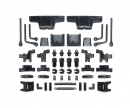 tamiya C-Parts Suspension Arm/Body Mount (4) TL