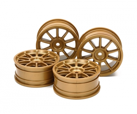 tamiya 1:10 Wheel Subaru Impreza gold 24,5mm(4)