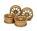 tamiya 1:10 Felgen Subaru Impreza gold24,5mm(4)