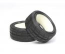 tamiya 1:10 Profil-Reifen Racing 24mm (2) MN
