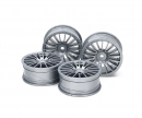 1:10 Wheel 18-Spoke grey 24 mm (4)
