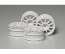 M-Chassis 11-Spoke Wheels white (4)