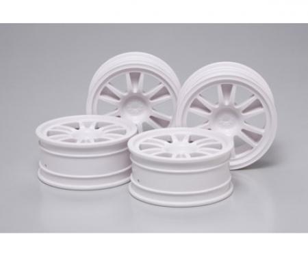 tamiya 1:10 Wheels (4) 2-Spoke 24mm +2mm