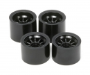 tamiya Wheel-Set (4) F104 Black