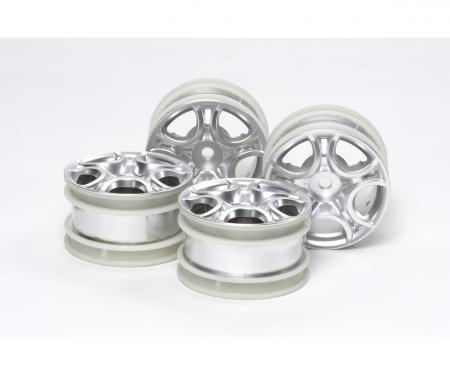 tamiya 1:10 Felgen-Set C-Sp/Alfa Romeo MiTo (4)