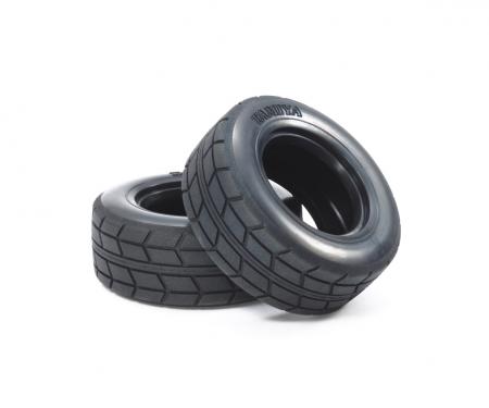 tamiya 1:14 Racing Truck Tires (2) 28mm
