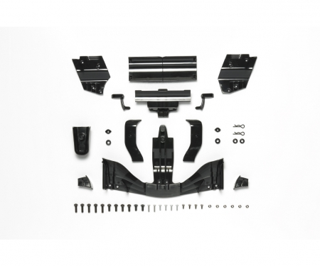 tamiya F104 2017 Wing Set Black