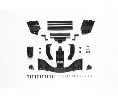 F104 Spoiler-Set Schw. Vo/hi (H/J-Teile)