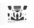 tamiya F104 Spoiler-Set Schw. Vo/hi (H/J-Teile)