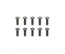 tamiya 3x8mm Steel Hex Head Screws (10)
