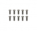 3x8mm Steel Hex Head Screws