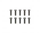 tamiya 3x10mm Steel Hex Head Screws (10)