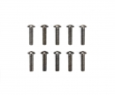 tamiya 3x12mm Steel Hex Head Screws (10)