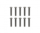 tamiya 3x16mm Steel Hex Head Screws (10)