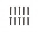 3x16mm Steel CS HexHead Screws