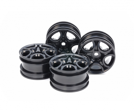 tamiya C-Shaped 10-Spoke Wheel Bla *4