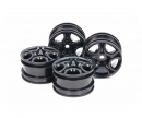tamiya C-Shaped 10-Spoke Wheel Black (4)