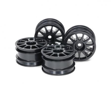 tamiya M-Chassis 11-spoke Wheel Black (4)
