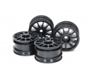 tamiya M-Chassis 11-spoke Wheel Black (4)