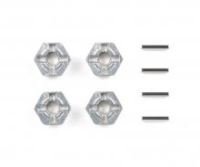 tamiya Alum. Pin Type Wheel Adapter Set (4)