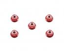 4mm Alu Stoppmutter Rot eloxiert (5)