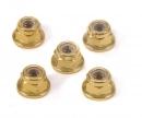 tamiya 4mm Alu Stoppmutter Gold eloxiert (5)