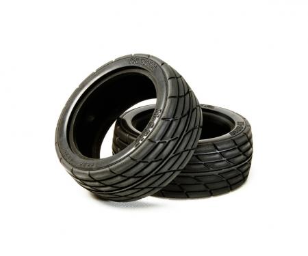 tamiya 1:10 Radial Tires M2 (2) 26mm Medium